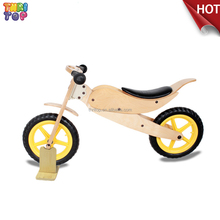 Factory Direct Sales Kids Wooden Bike,Children Wooden Balance Bike for 2-7 Years Old