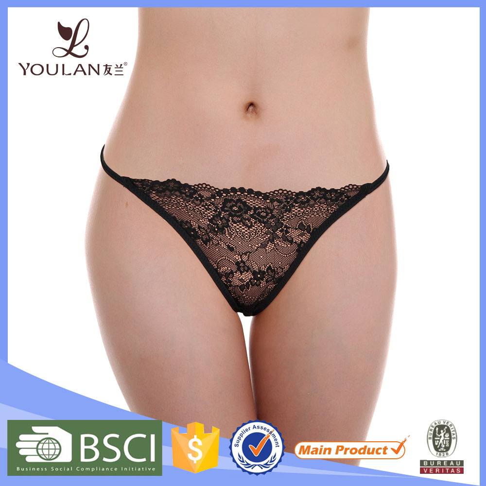 Super Quality Elegant Young Lady Sex Lighted Underwear Thong