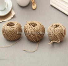 NL0053 Packaging hemp rope tag photo wall dedicated DIY handicrafts packaging decorative weaving hemp rope natural