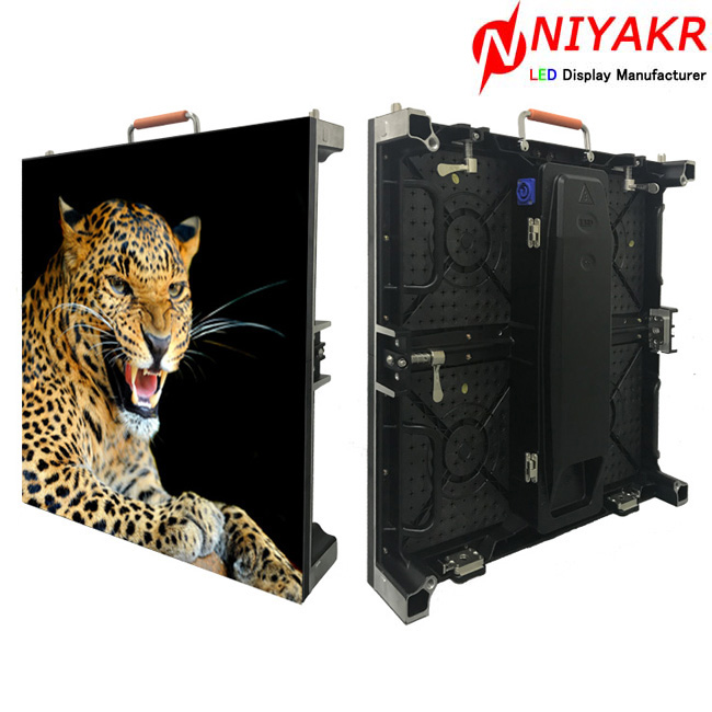 P3.91 Indoor rental led tv <strong>video</strong> With 500x500 Die Cast Aluminum Cabinet