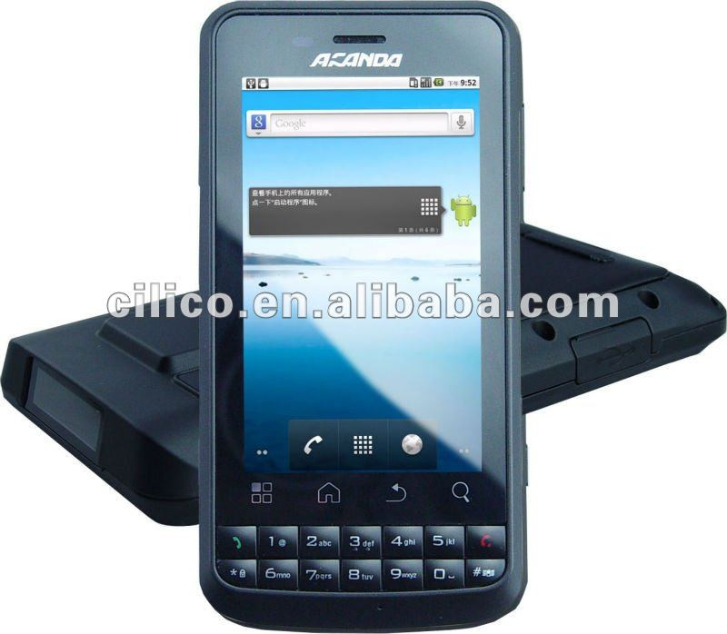 Industrial Android UHF/HF rfid mobile phone (IP65)
