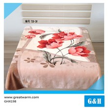 High Quality Reasonable Price embroidery patterns Coral Fleece Blanket