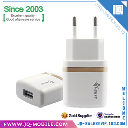 High Quality US EU UK Plug Portable Cell Phone Charger/ Travel Wall Charger USB Charger for mobile phone