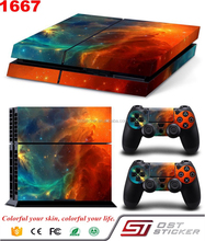 Game Skin Sticker For PS4 Playstation 4 Console Controllers Vinyl Decal