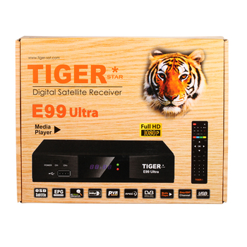 Tiger E99 Ultra Digital Satellite Receiver with DVB-S2 metal HD receiver