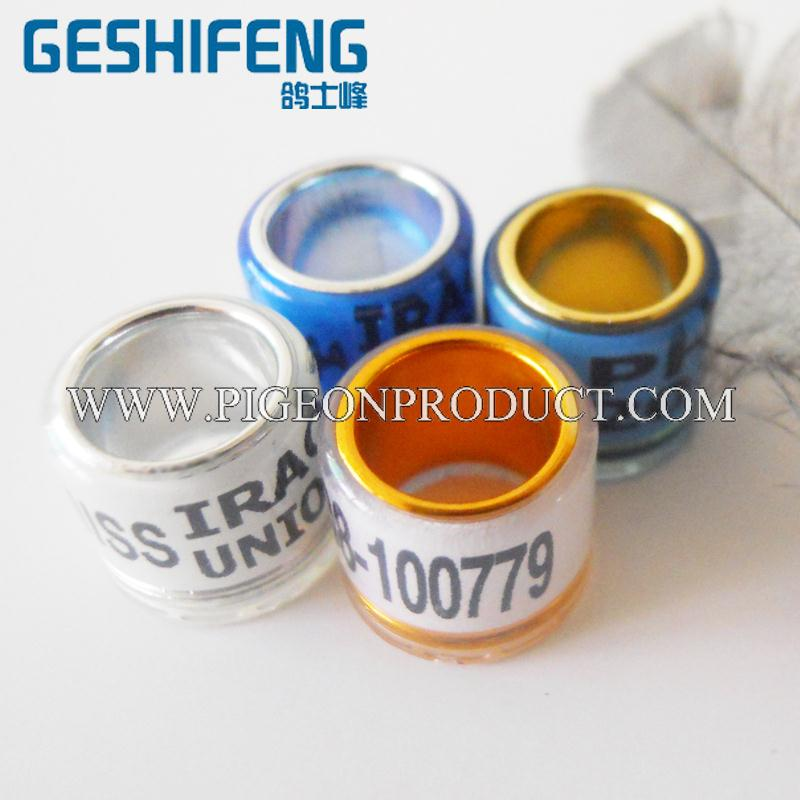 nfc chip homing pigeon ring laser marker nfc chip homing pigeon ring
