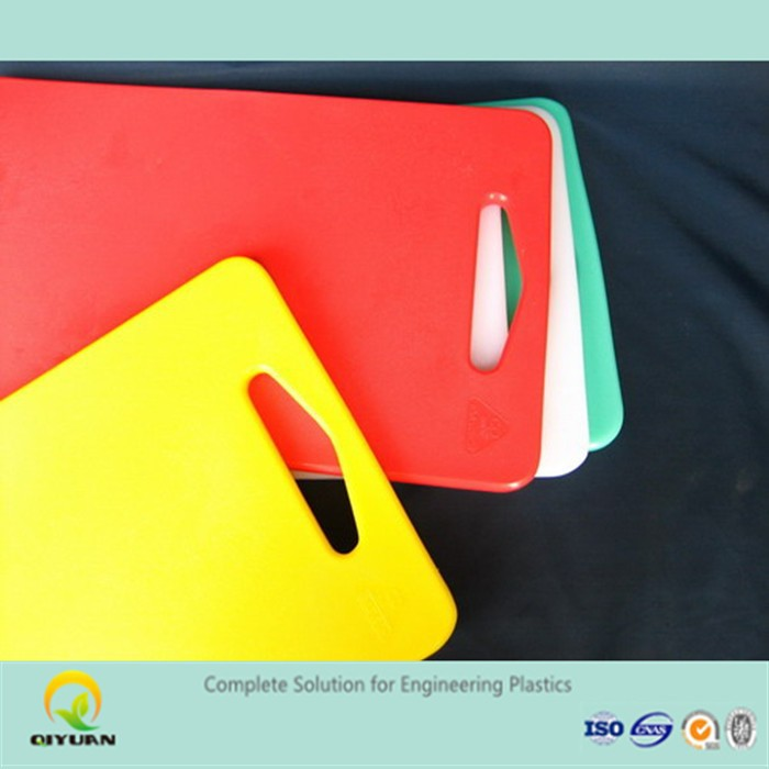 thermoplastic cutting boards/ customized various size chopping block plastic panel