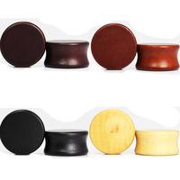 Wood Ear Gauges Expander Earring Plugs Organic Body Piercing Jewelry