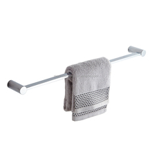 Modern Wall Mounted Brass Hotel Glass Shower Door Towel Bar