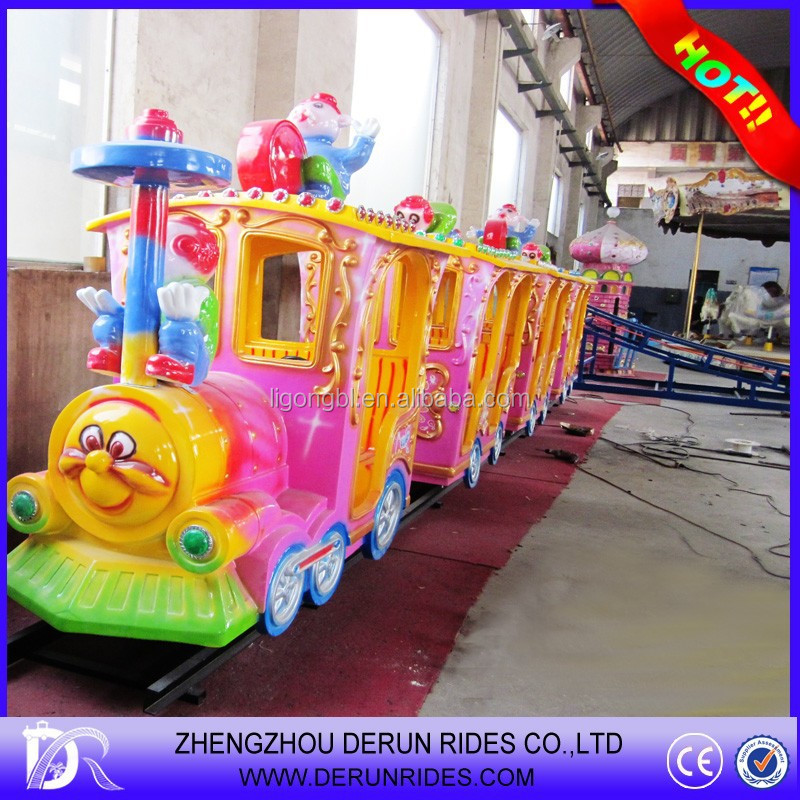 2015 Alibaba Fr Luna Park Attractions Train Games For Kids