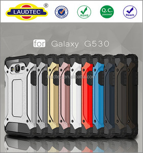 2 in 1 360 degree protective shockproof Armor back cover case for Samsung galaxy Grand Prime G530