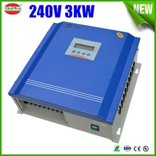 3kw led automatic solar street light controller for solar power system 240v