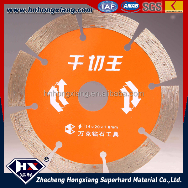 diamond saw blade/dry cutting disc for granite, marble, stone tiles