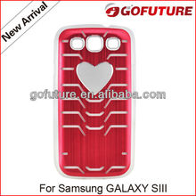 Factory supply, protective cell phone covers for samsung galaxy s,led case for galaxy