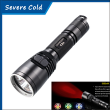Nitecore CR6 LED Red Light torches and White Light green red Blue light outdoor hunting camping lamp led fishing flashlight