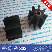 Flexible Outboard Motor Rubber Impeller For Marine Water Pipe Engine