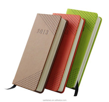 Best selling western leather customer shaped size shorthand notebook, pu leather hardcover/organizer/diary notebook