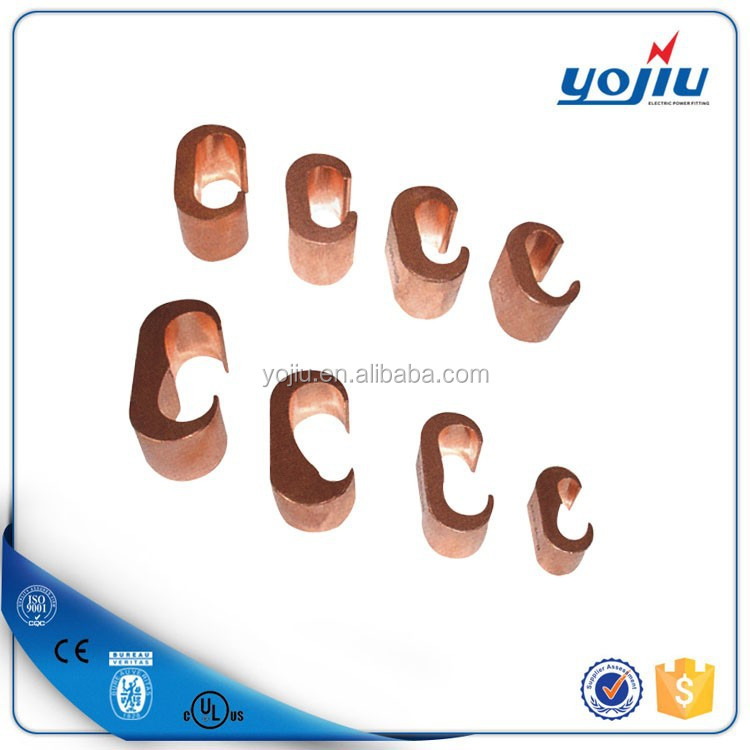 Manufactured Pure Copper Connector C Clamp/copper Wire Clamp For ...