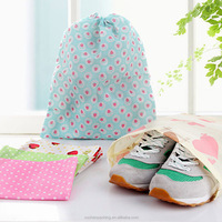 Wholesale Customized Italian Matching Non Woven Drawstring Shoe Bag dust bag