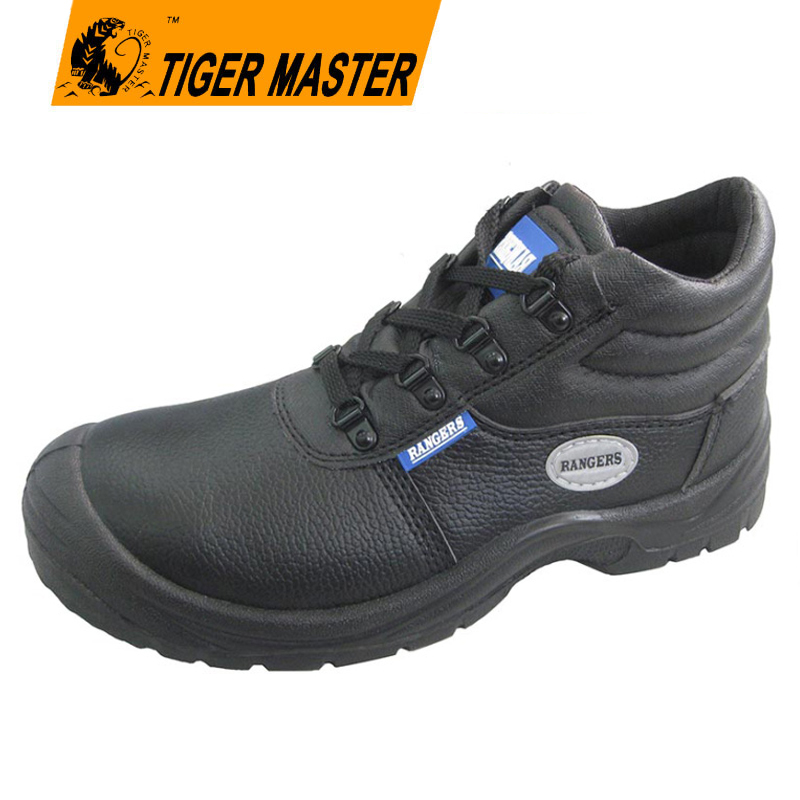 Rangers mens leather shoes work safety shoes for pakistan