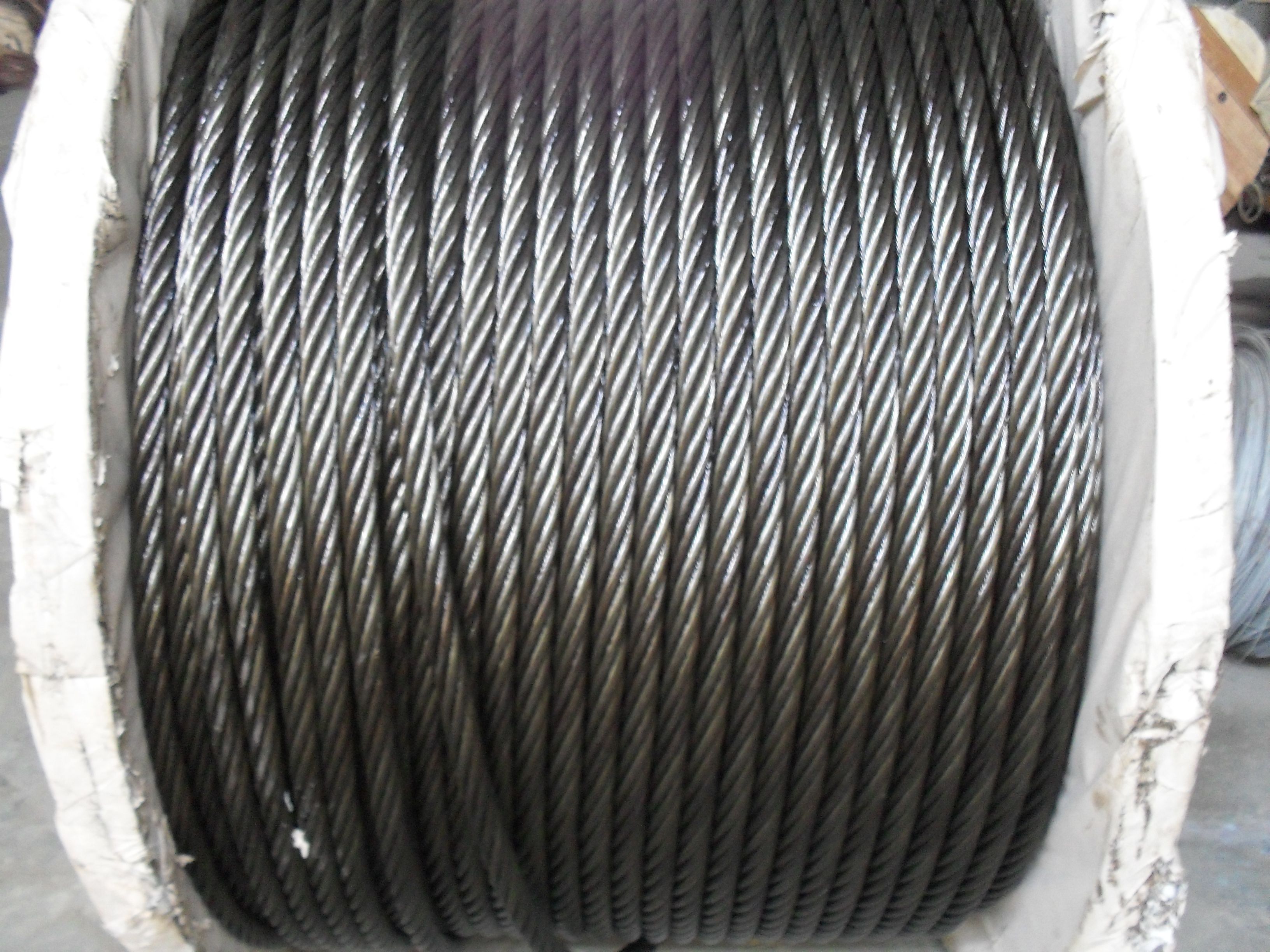 Brand new steel fiber ropes pilot wire