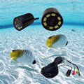 mini infrared underwater video camera waterproof fishing camera with 50m cable