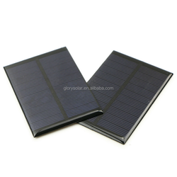 Solar Panel Manufacturers In China Offer Customized Small Solar Panel 0.75W 5V 150mA 100*69*3MM Small Size Solar Panel