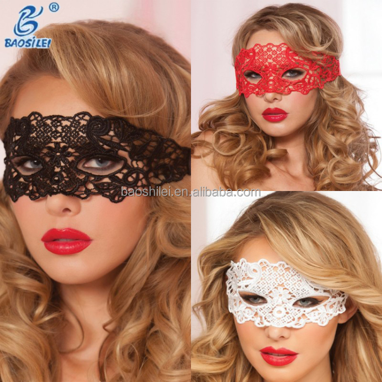 Fancy Wholesale Embroidery Lace Sexy Lingerie Lots Sexy Eye Blindfold