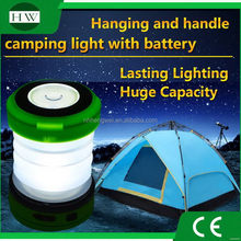 Factory hot sell led solar collapsible camping light