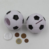 Football Shaped Piggy Bank That Counts Money