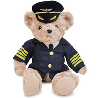 Plush Teddy Manufacturer 30 cm Plush Blue Teddy Bear JZZN-DG007