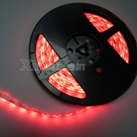 waterproof IP68 red color flexible snake led light