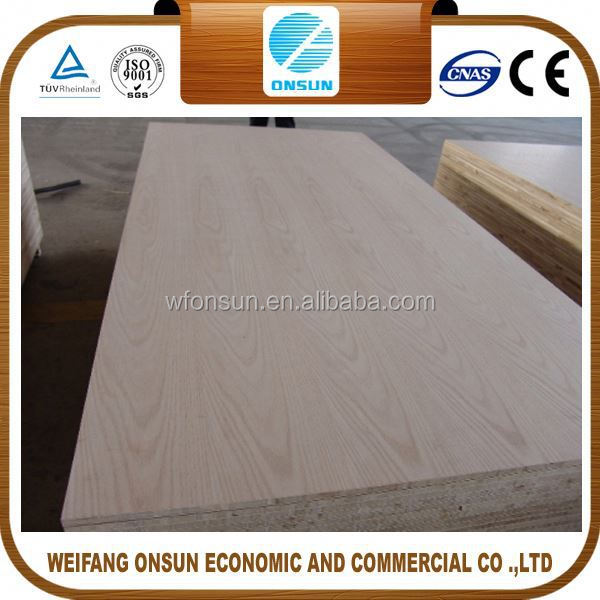 the cheapest high quality quarter sawn red oak plywood for decoration