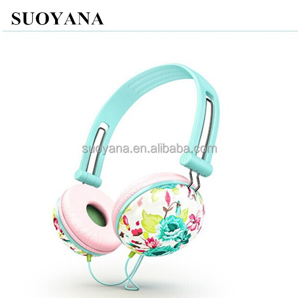 Cheap stylish headphones colorful overhead design bests headphones