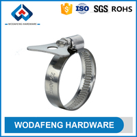 German Type Conventional high strength mechanical properties radiator hose clamps types