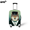 ONE2 Fashion dog style high elasticity spandex protective kids luggage cover