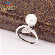 2017 hot selling products wholesale fancy 925 silver rhodium plated cheap ring