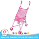 Cheap luxurious metal flexible baby pram wholesale doll stroller