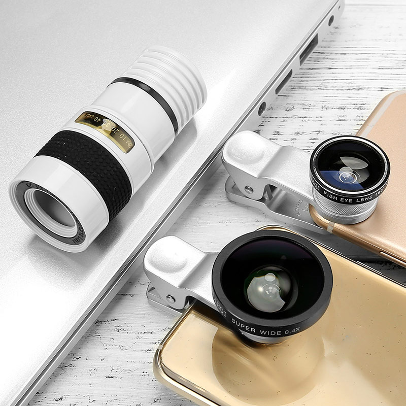 LIEQI New Patented design Mobile phone camera lens cover 4 IN 1 for iphone accessories