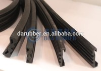 D shape rubber fender for boat