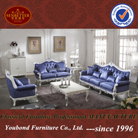 0036 high quality home furniture carved luxurious wood royal Italy design antique sofa