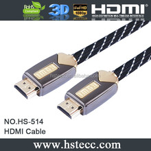 HDMI 1.4 Kabel 2.0v with ethernet 4kx2k for HDTV 3D PS4 made in china