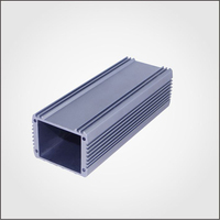 Aluminum extrusion box housing shell cover