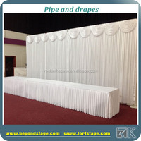 RK adjustable pipe drape for church background wall backdrop decoration pole stand