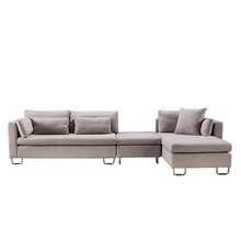 Grey fabric <strong>modern</strong> sectional sofas on sale of sofa set furniture