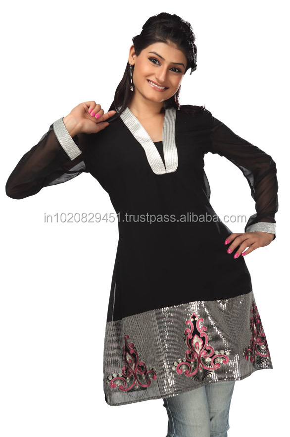 Exclusive Embroidered Designer Kurtis,