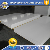 sign board closed cell pvc foam sheet white celuka 10mm 15mm 20mm
