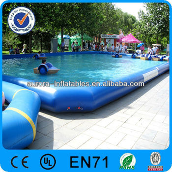 Pvc large inflatable swimming pool for kids buy large for Large size inflatable swimming pool