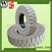 white forklift non-marking solid tire 5.00-8 6.00-9 6.50-10 7.00-12 23x9-10