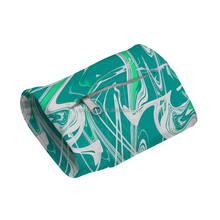 Running sports printed wristband with zipper pocket